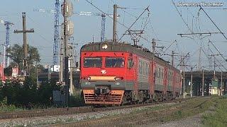 У железной дороги. Саранск (07.2015)(В небольшом видео показаны несколько поездов, проследовавших по станции Саранск-1 (и остановочному пункту..., 2015-08-27T14:14:42.000Z)