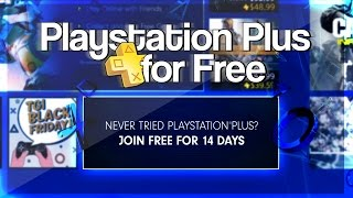 how to get free playstation plus 2016 free ps plus tutorial no credit card working november 2016