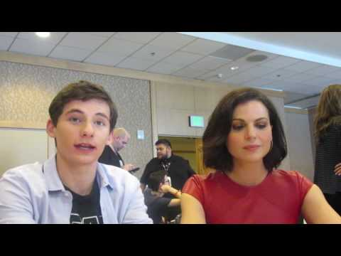 SDCC 2016: Once Upon A Time - Lana Parrilla & Jared Gilmore