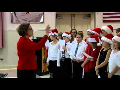 West Genesee Middle School perform for Veterans at Syracuse VA Medical Center