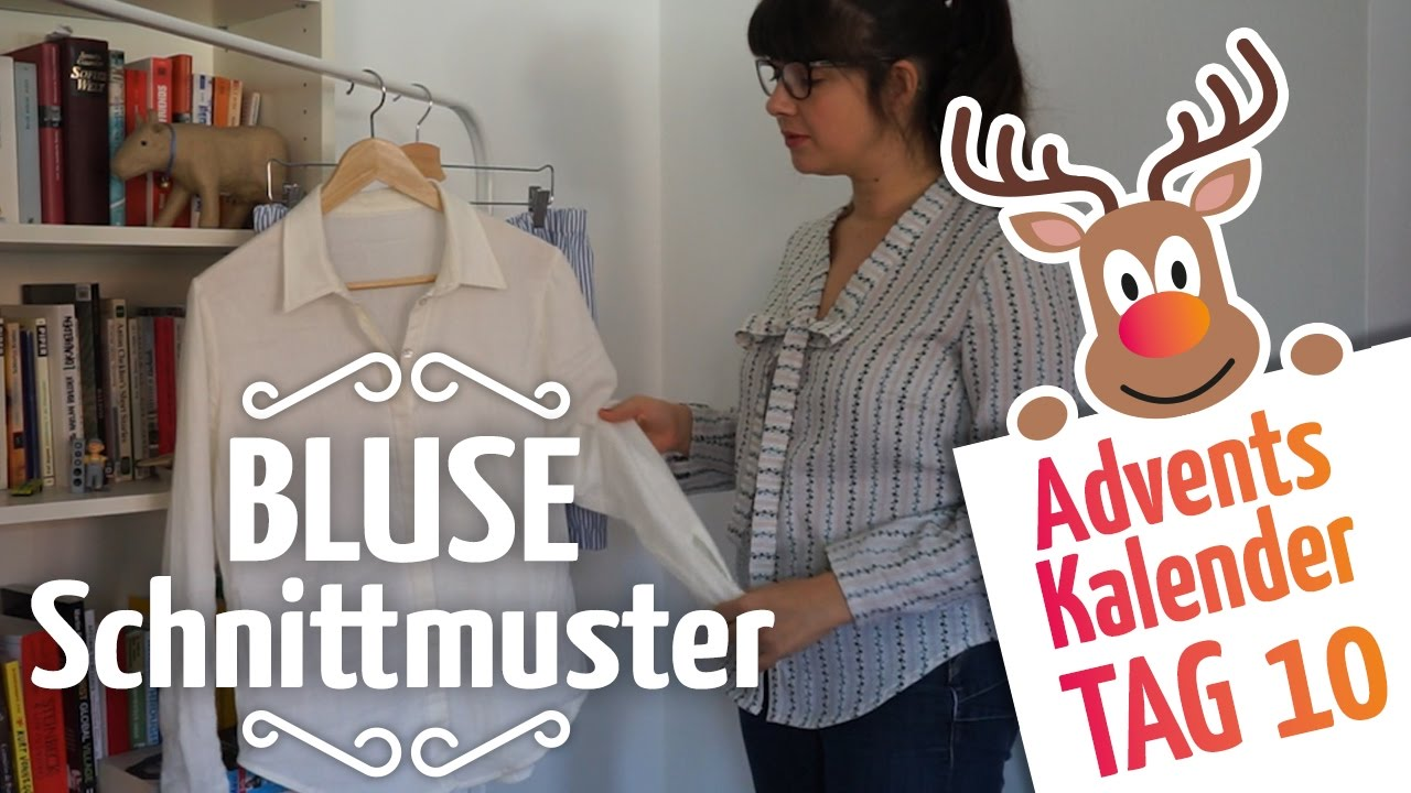 Bluse Schnittmuster // Schnittmuster selber machen - YouTube