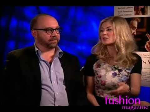 Paul Giamatti, Rosamund Pike interviews for Barney's Version