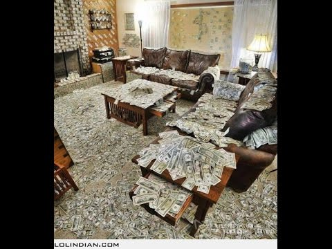 House full of money youtube for Free money to build a house