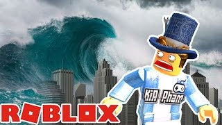 Roblox | SURVIVED The TSUNAMI-Tsunami Survival | Kia Breaking