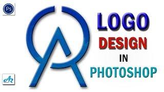 Créer AR Société de Conception de Logo dans Photoshop cc Tutoriel|Texte de Deux Conception de Logo dans Photoshop cc 2018