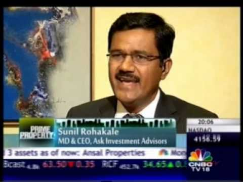 CNBC Prime Property 28 Dec 2013 09min 45sec Mr  Sarang Wadhawan  VC & MD, HDIL 20 01pm