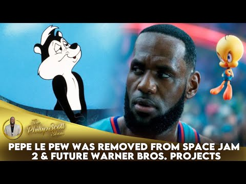 Pepe Le Pew Was Removed From Space Jam 2 & Future Warner Bros. Projects