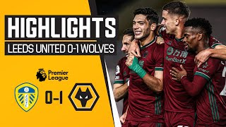 Jimenez seals three big points! | Leeds United 0-1 Wolves | Highlights