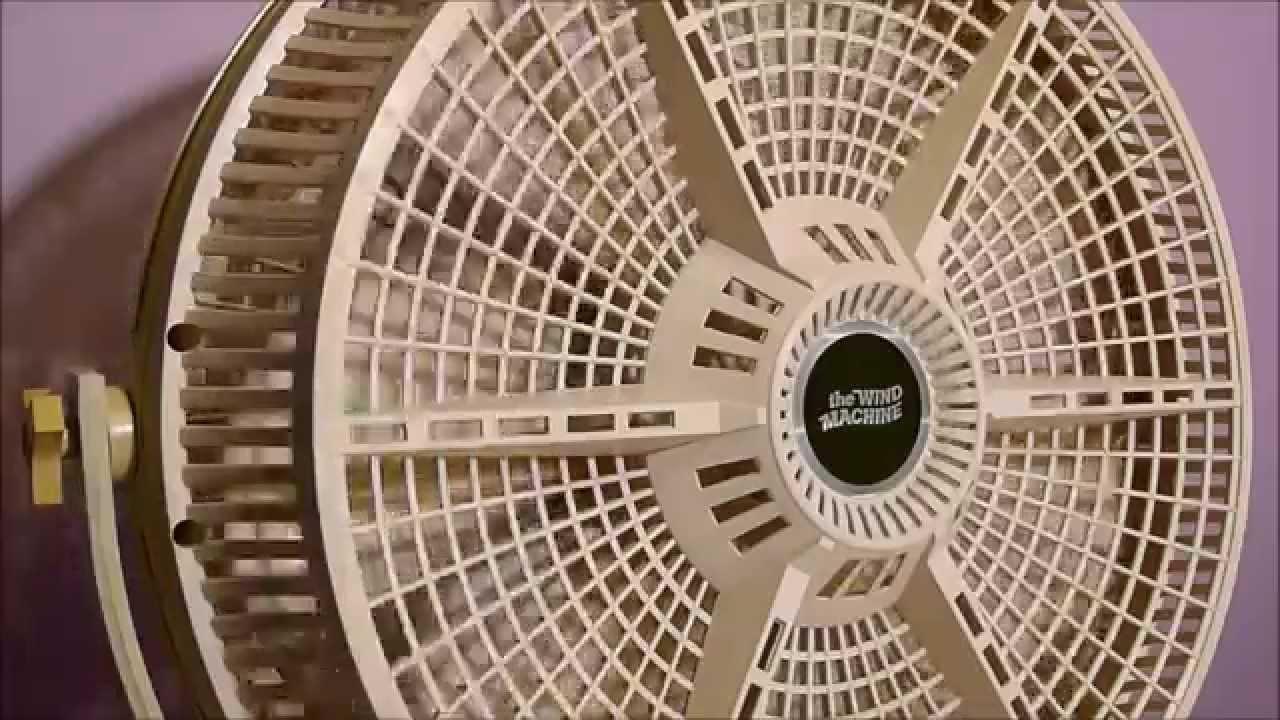 1982 Galaxy Wind Machine Electric Fan Youtube
