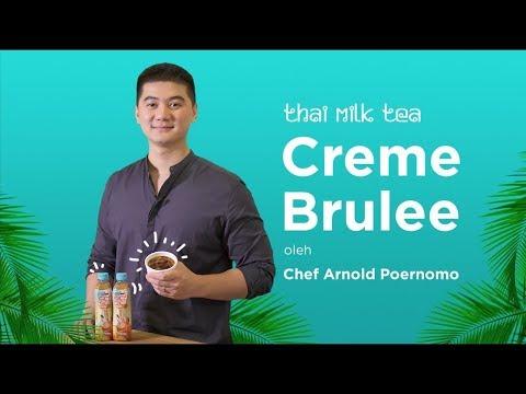 ICHITAN Thai Milk Tea ' Creme Brule' Bersama Chef Arnold