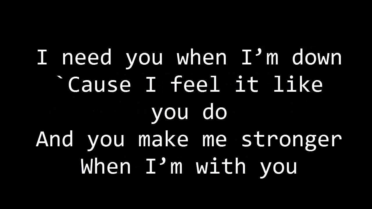 I m thinking about you lyrics