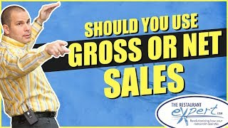 Restaurant Management Tip - Should I Use Net Sales or Gross Sales #restaurantsystems