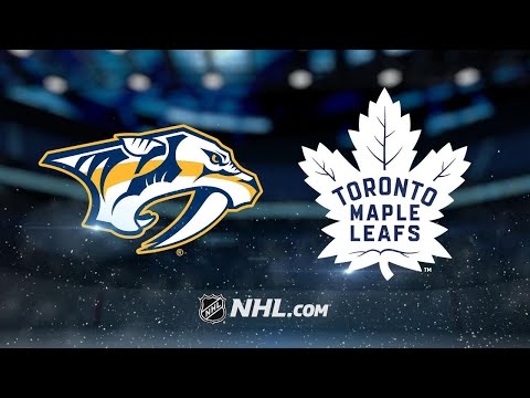 Andersen, Maple Leafs top Predators in shooout, 3-2