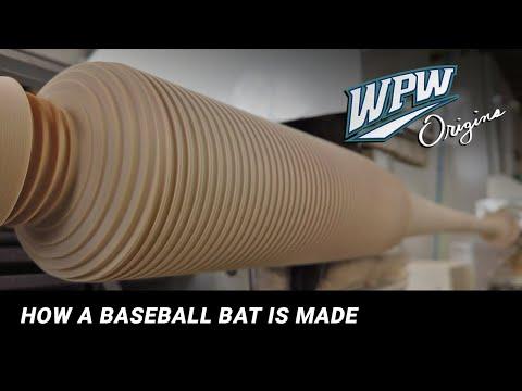 Origins: How A Baseball Bat Is Made