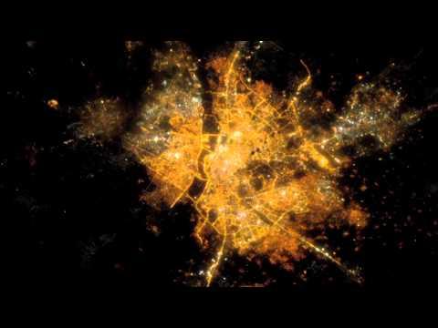 Ciudades por la noche desde la Estación Espacial Internacional