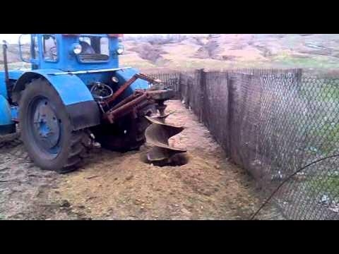 Крепление цилиндра на мтз 82 - YouTube