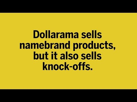 How Dollarama became the retail king of knockoffs