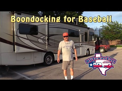 RV Tips: How to Dry Camp in an RV | RV Boondocking | RV Texas