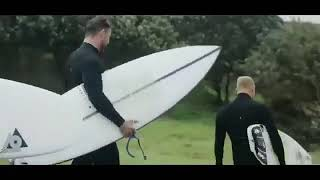 Surfing with Chris Hemsworth