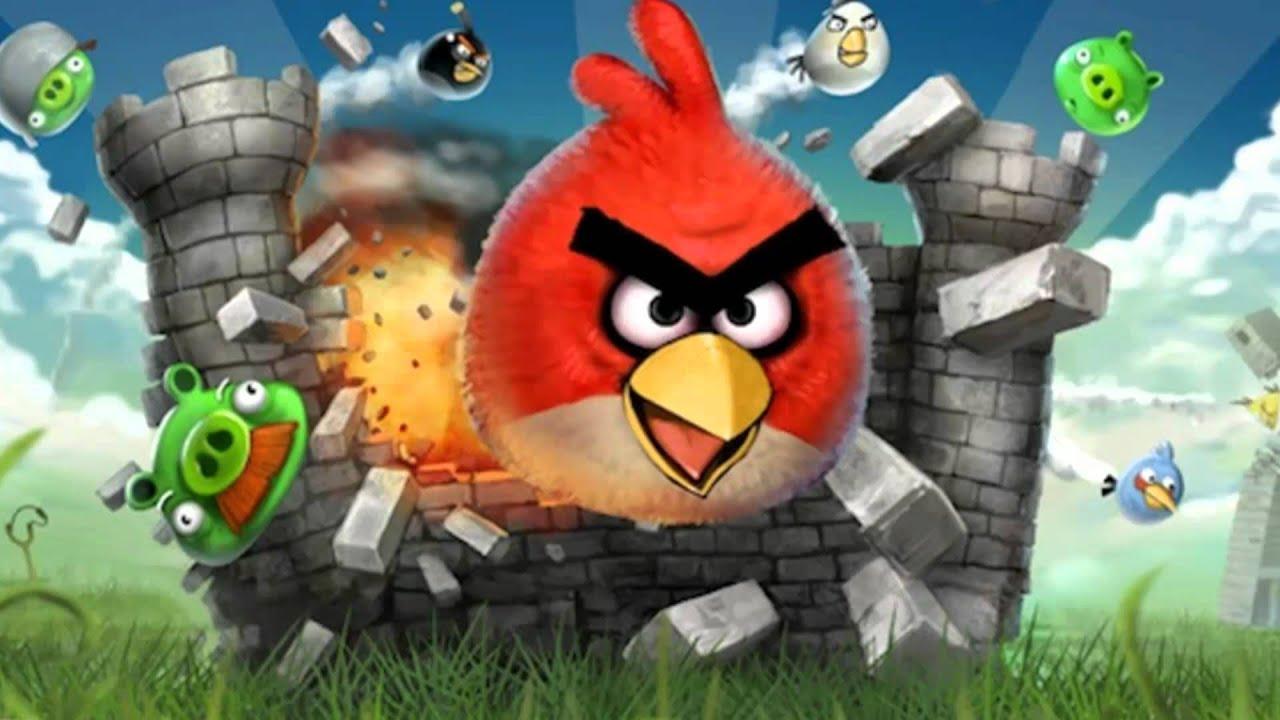 Скачать мелодию из игры angry birds