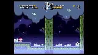 Super Mario World Piranha Island - Stage 8 - Piranha Lake (Donkey Kong Country - Aquatic Ambiance)