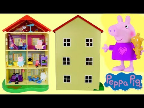 Peppa Pig Lights and Sounds Family Home House Imaginative Play