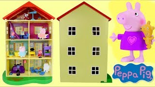 Video Peppa Pig Lights and Sounds Family Home House Imaginative Play download MP3, 3GP, MP4, WEBM, AVI, FLV Juli 2018