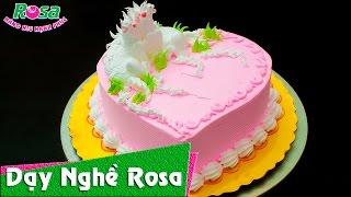 Bánh kem sinh nhật trái tim cho người tuổi ngọ