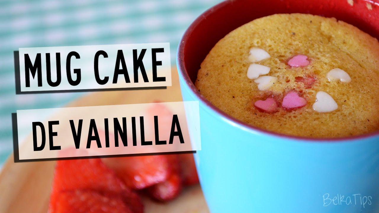 Recetas En El Microondas Mug Cake De Vainilla