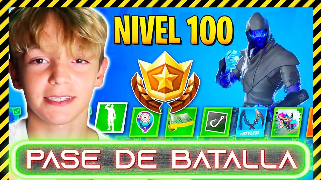 ¡COMPRO EL PASE DE BATALLA COMPLETO! DESBLOQUEO EL NIVEL 100 FORTNITE CAPITULO 2