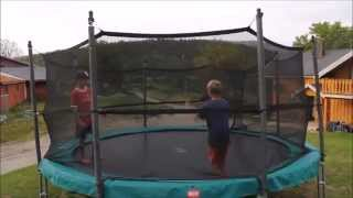 maybe the worlds best 7 year old in trampoline