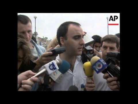 SPAIN: SAN SEBASTIAN: ETA SUPPORTERS HOLD PEACEFUL MARCH