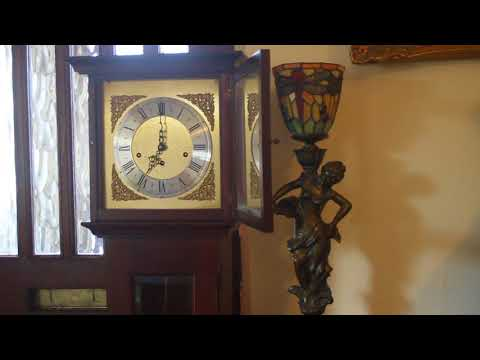 Vintage 'Metamec' Westminster Chiming 8 Day Weight Driven Granddaughter Clock