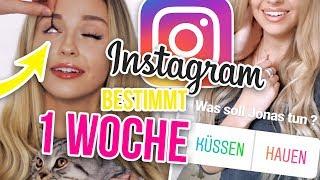 Instagram bestimmt mein Leben für 1 WOCHE 😱 DAS hat JONAS gemacht! XLAETA