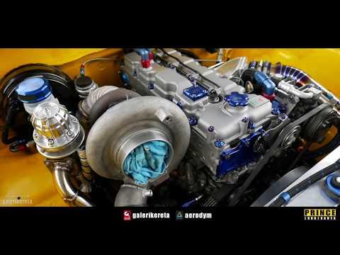 Hatyai Best Drag Truck Walkaround - Race Day Thailand 2017