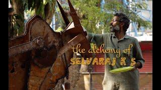 THE ALCHEMY OF SELVARAJ K S | SCULPTURE | SHEET METAL | LIVE DEMONSTRATION |