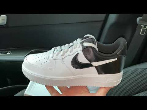 Nike Air Force 1 NBA Spurs White Black