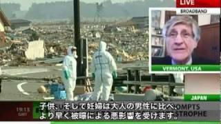 福島原発事故の現状:アーニー・ガンダーセンがロシア報道番組で語る