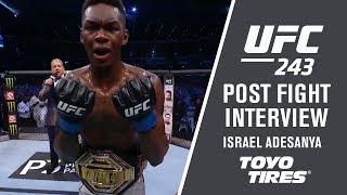 UFC 243: Israel Adesanya -