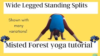 Wide Legged Standing Straddle Splits | Yoga For Complete Beginner (2020)