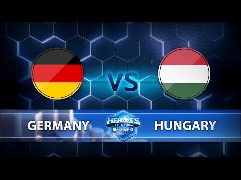 Nexus Games Europe - Group B Match 4 – Germany vs. Hungary - Game 2