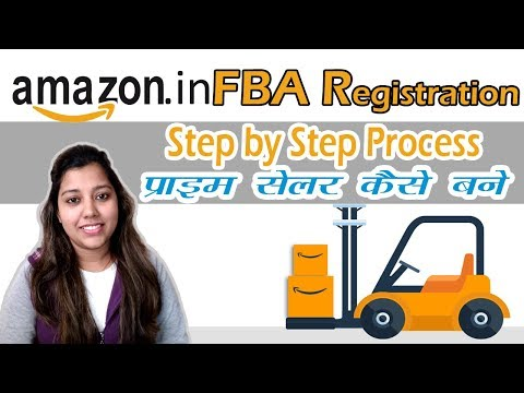 Amazon India FBA Seller Registration   Steps by Step Amazon India fba enrollment tutorial in Hindi