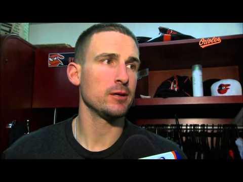Ryan Flaherty talks about his three-run homer in the O