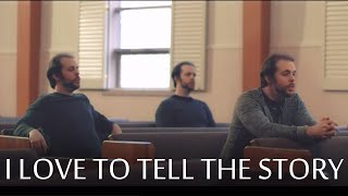 I Love to Tell the Story - A Cappella - Chris Rupp  (Official Video)