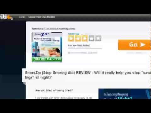 Review Of Snorezip Snore Remedy From Snorezip Video Summary