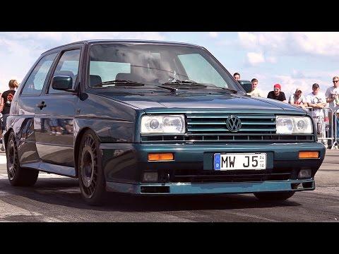 VW GOLF 2 Rallye Turbo Tuning Sound