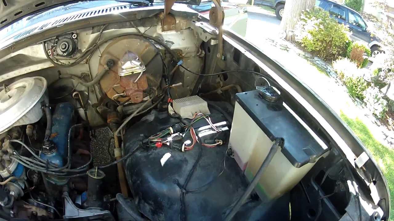 Taco Wiring Diagrams F100 V8 Simple Diagram Power Head 1981 Ford F 100 Tach Installation Youtube Pinto