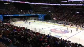 Taylor Hall Goal Live At the Arena! Away Game vs Islanders January 7th 2018 (1/7/18)