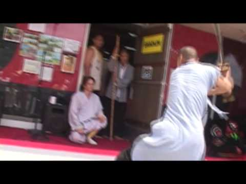 Shaolin Temple Los Angeles Demo