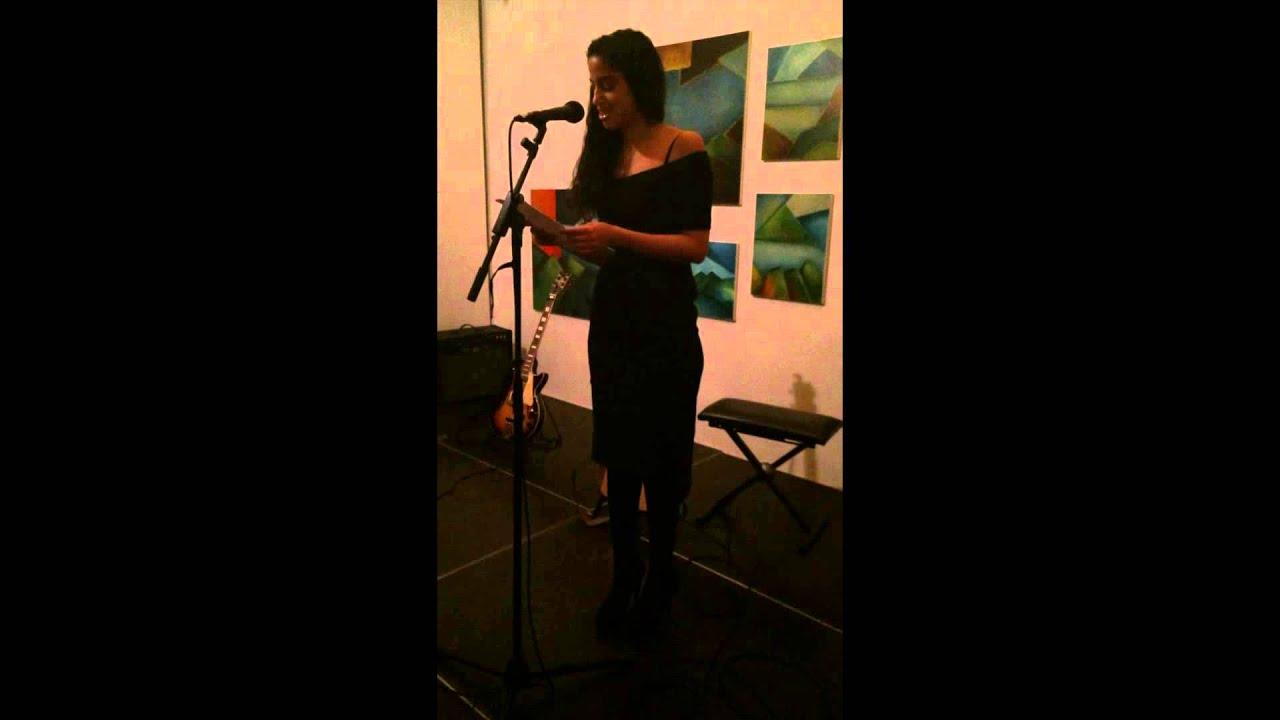 sumer optræder med digt om mobning på vesterbro